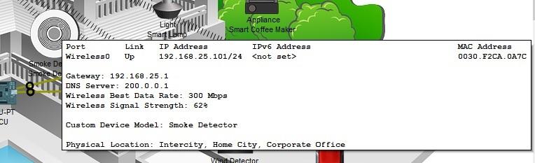 сетевая информация об устройстве