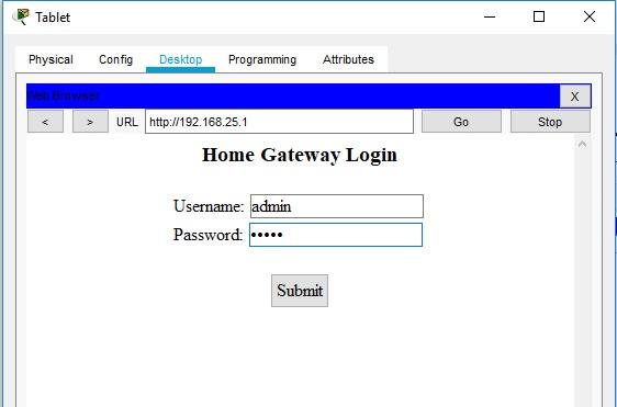 форма для ввода пароля